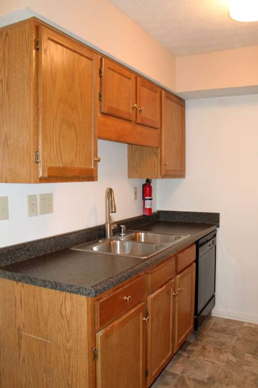 Fully equipped kitchen with new countertops!