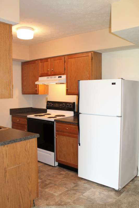Updated kitchen with appliances